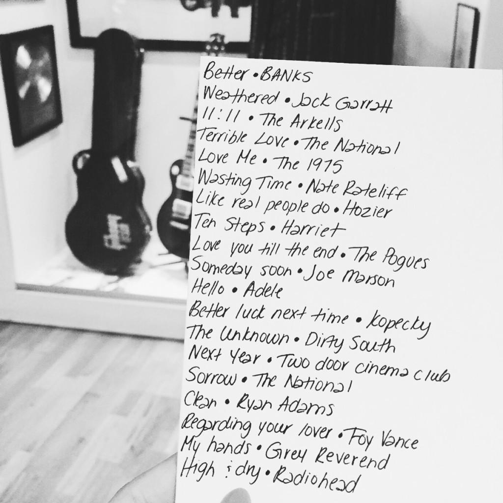 An irish playlist at Music Lives